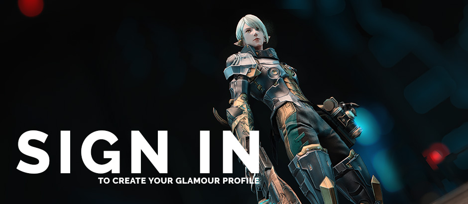 Sign up to create your glamour profile