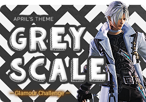 April's Glamour Challenge - Greyscale
