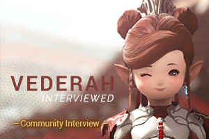 Community Interview - Vederah Kilmister