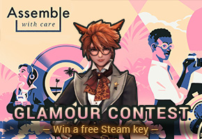 Assemble with Care glamour contest!