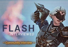 We interviewed Flash!